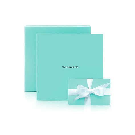 $50 Tiffany Gift Card.   Tiffany & Co.