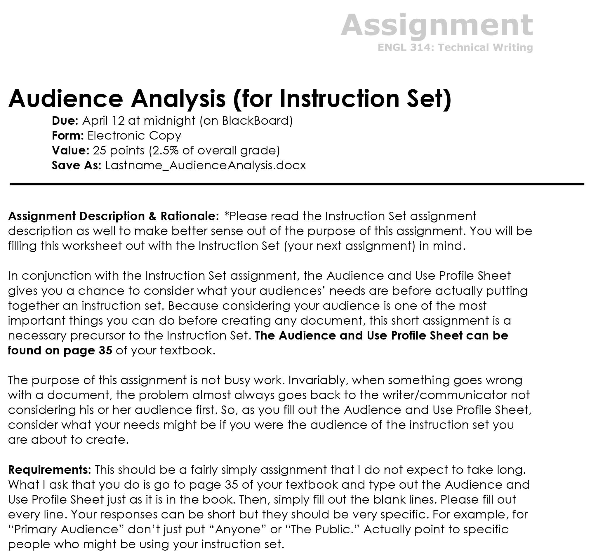 why is audience analysis important before writing an essay