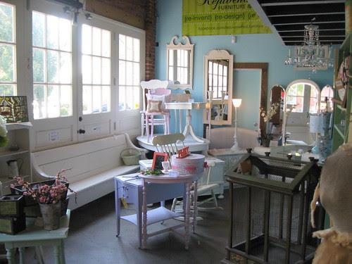 Rejuvenated Furniture at BUiLDiNG CHARACTER