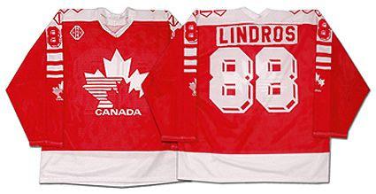 1991-92 Team Canada Lindros