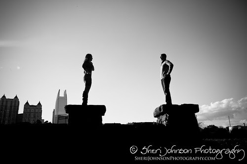 Brittany & Chris Piedmont Park Engagement Photo Session