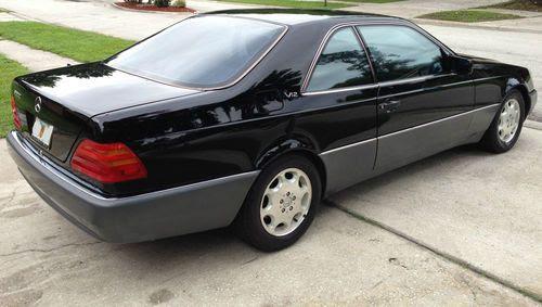 Find used 1995 Mercedes-Benz S600 Coupe 2-Door 6.0L V12 ...