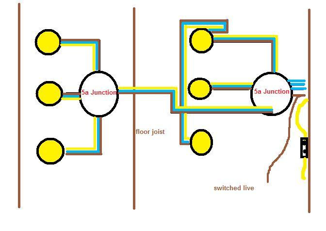 21 Luxury How To Wire 3 Lights To One Switch Diagram Uk