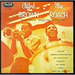 Clifford Brown and Max Roach cover