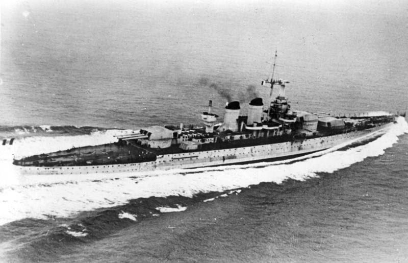 """File:Bundesarchiv Bild 183-S54286, Italien, Schlachtschiff """"Littorio"""".jpg"""