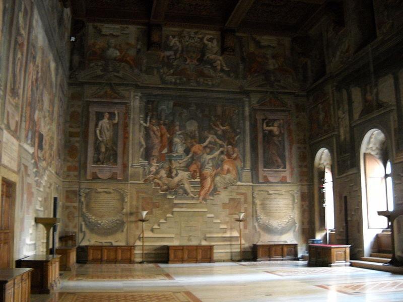 File:Sala dei Cento Giorni - Giorgio Vasari - 1547 - Palazzo della Cancelleria 2.jpg