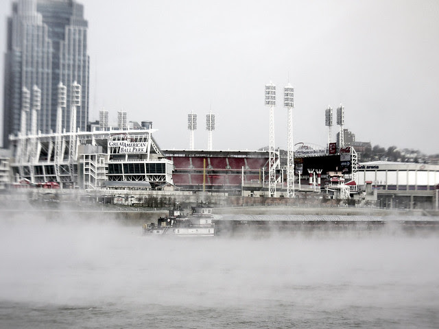 frosty Ohio River