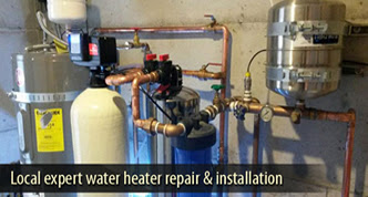 stopping water heater