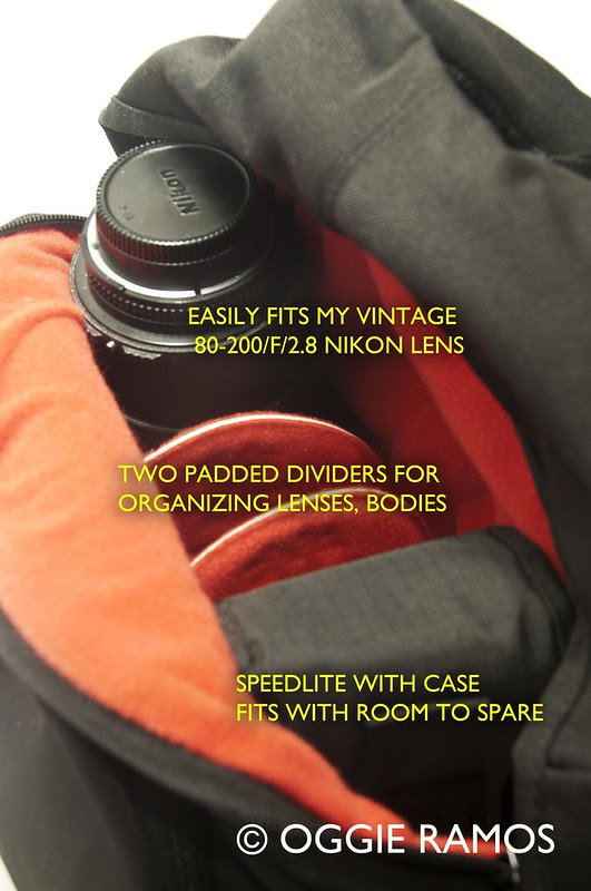 Crumpler 5M$Home Backpack Inside with Captions