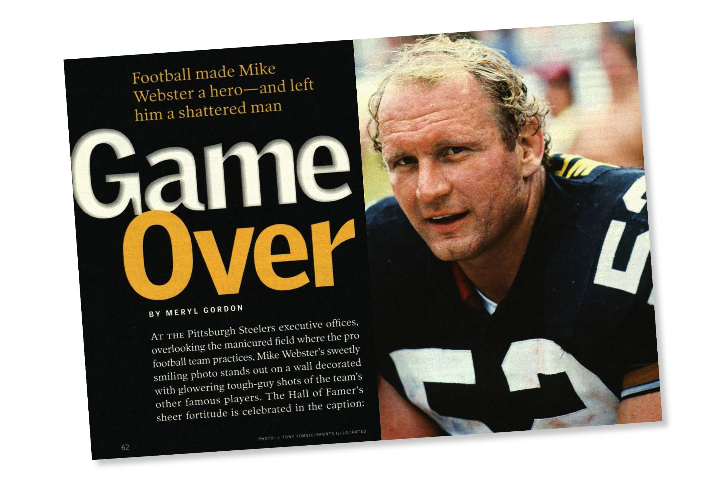 Image result for mike webster old