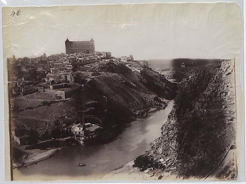 Vista de Toledo en 1883.Fotografía de Alfred Dismorr. The National Archives, Kew, Richmond, Surrey