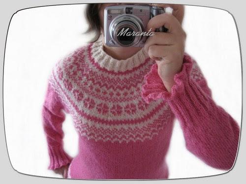 sweter norweski