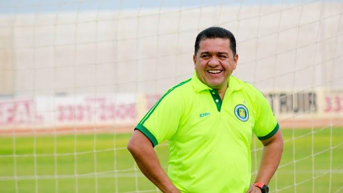 José Cortina técnico do Assu (Foto: Divulgação)
