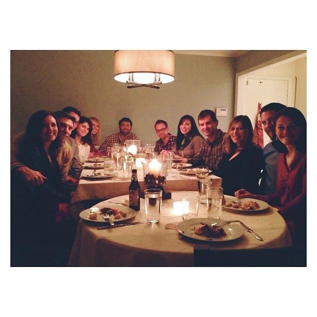 #Christmas #dinnerParty with the most authentic friends...@jlagreca, @andreammaurer, @timmaurer, @joshglaser9