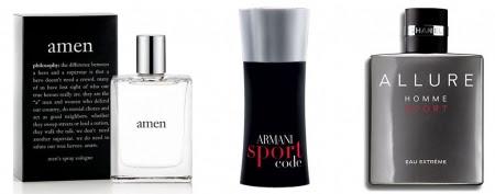 Men's colognes that women actually like (L-R: qvc.com; Amazon.com; Chanel)