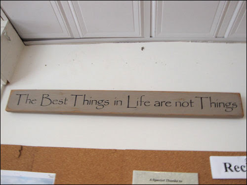 Erin Bakery: The best things in life are not things
