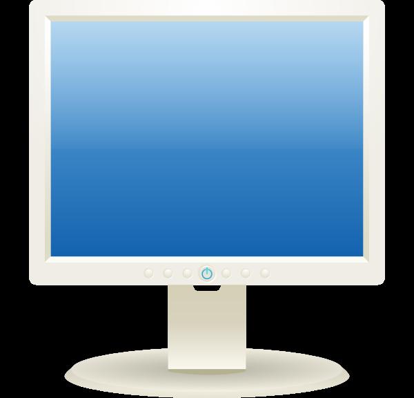Computer Lcd Monitor Clip Art