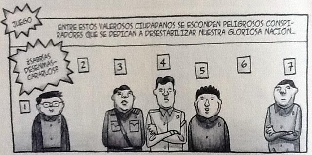 Viñeta de Pyongyang - Juego03