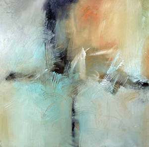 """All That Echoes by Filomena Booth Acrylic ~ 30"""" x 30"""""""
