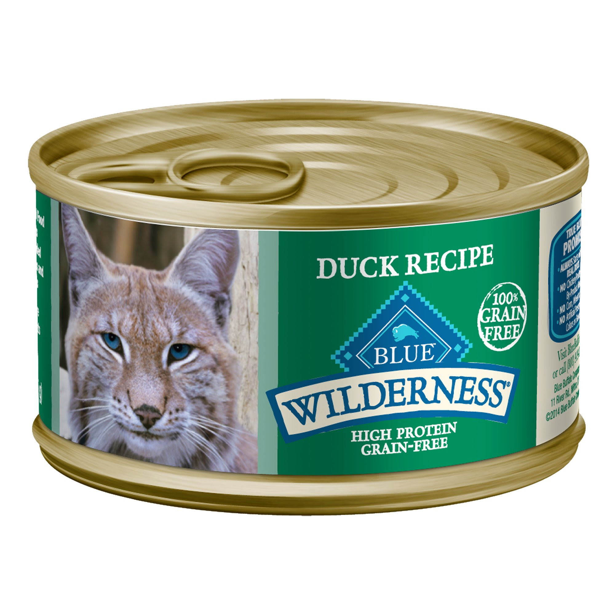 Blue Buffalo Wilderness Duck Canned Cat Food | Petco