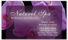 BCS-1048 - salon business card