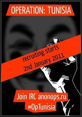 Operation Tunisia: recruiting starts 2nd January 2011