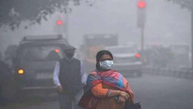 NCR में वायु गुणवत्ता बहुत खराब और गंभीर श्रेणी के बीच दर्ज की गई