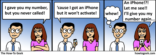 The iPhone Excuse