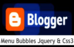 Menu-Bubbles