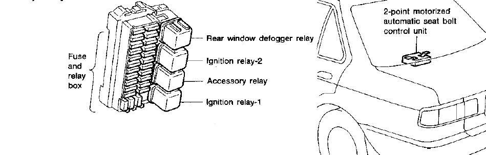 94 Sentra Fuse Diagram