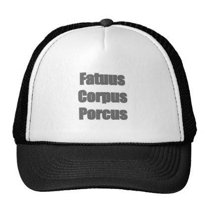 Fatuus Corpus Porcus Trucker Hat