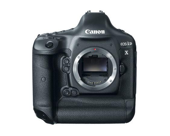 Canon EOS-1D X Front View (No Lens)