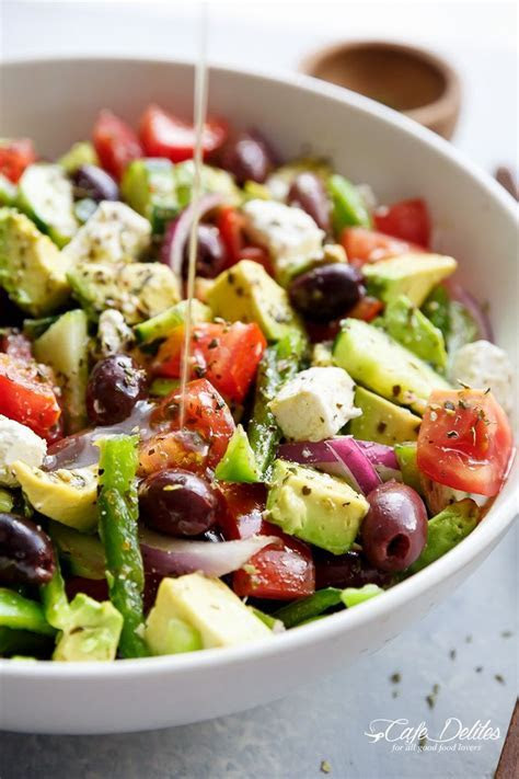 100  Greek Salad Recipes on Pinterest   Healthy salad