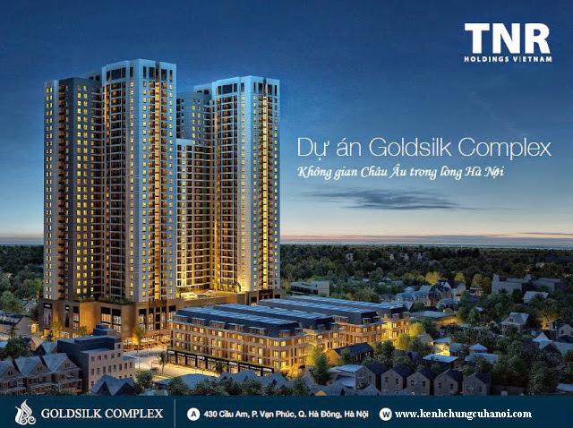 Phối cảnh chung cư Goldsilk Complex