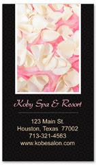 BCS-1126 - salon business card