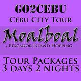 Cebu City + Moalboal + Pescador Island Hopping Tour Itinerary 3 Days 2 Nights Package