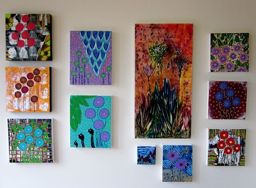 Paintings for Down the Garden Path