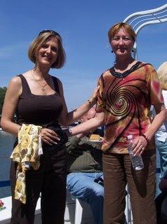 Jen and Theresa