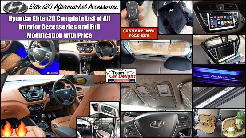 Car Interior Accessories List