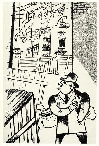 Graphic Novel illustration by William Gropper