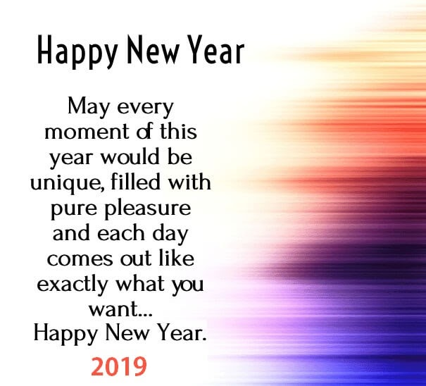 Top 100+ Happy New Year 2019 Greetings, Wishes & SMS