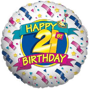 Frases de cumpleaños para 21 años