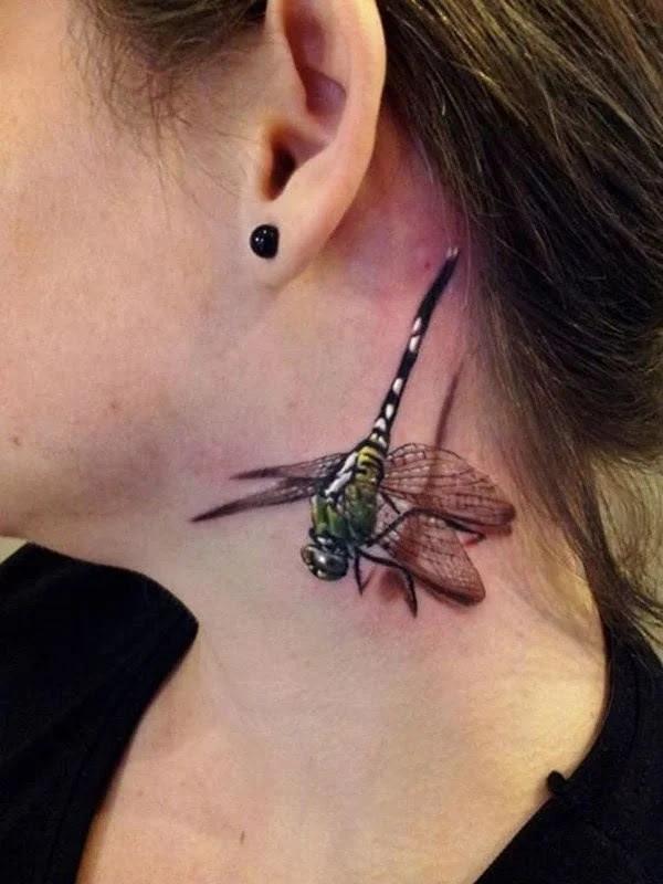 75 desenhos de tatuagem de libélula bonito e sexy 14 por Bryan