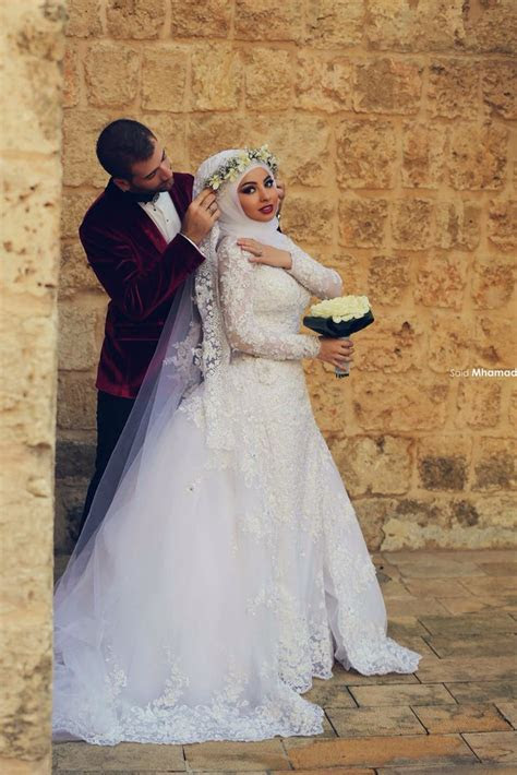 17 Best ideas about Hijab Bride on Pinterest   Wedding
