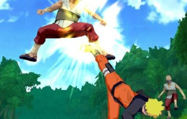 Naruto Shippuden Legends: Akatsuki Rising PSP screenshot