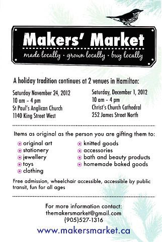 Makers' Market 2012
