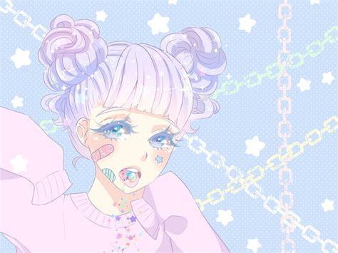 pastel anime aesthetic
