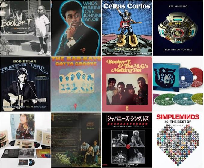Lanzamientos discográficos: 1 de noviembre