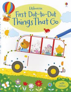 Picture of First Dot-to-Dot Things That Go