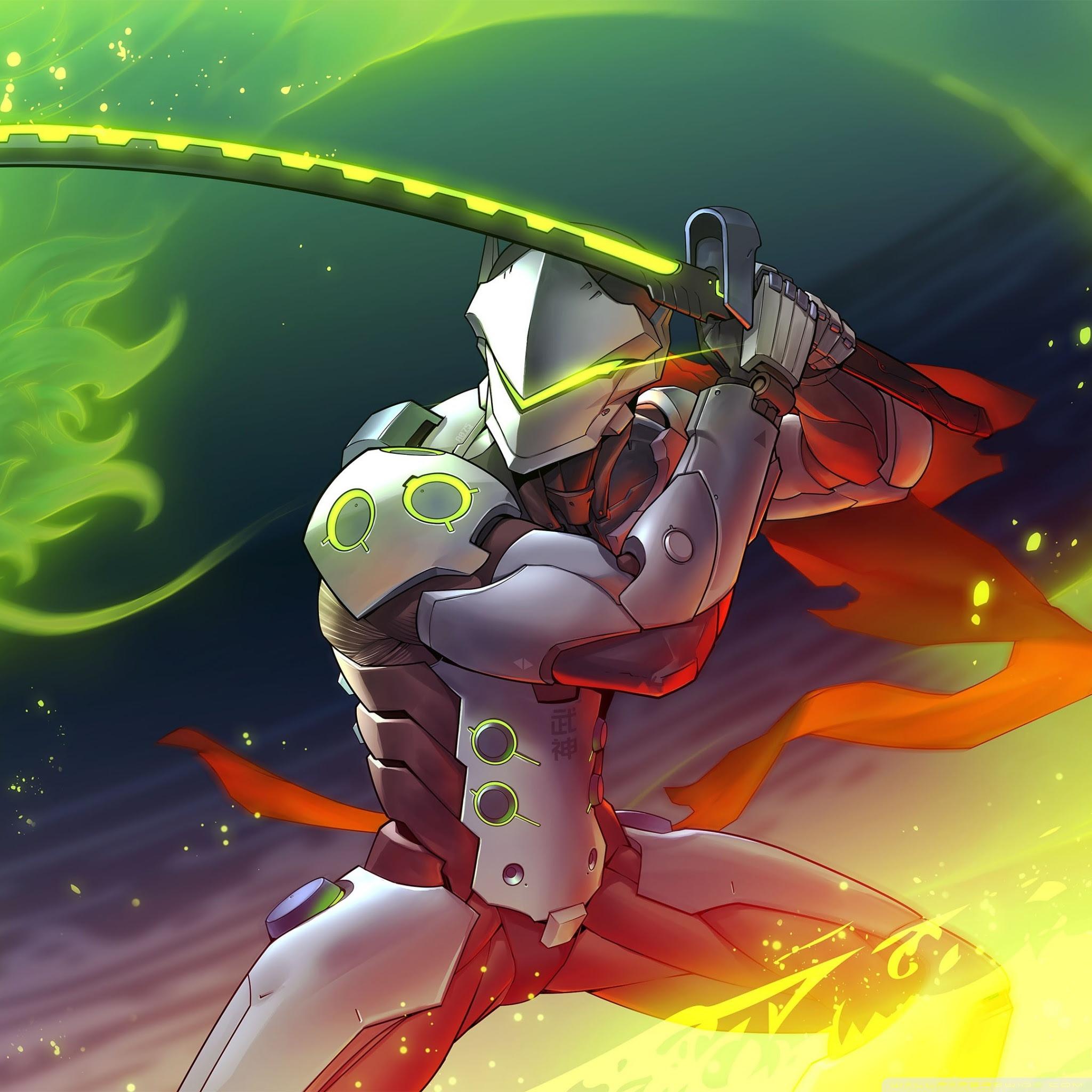 Beautiful Genji Overwatch 2 Wallpaper Hd Photos